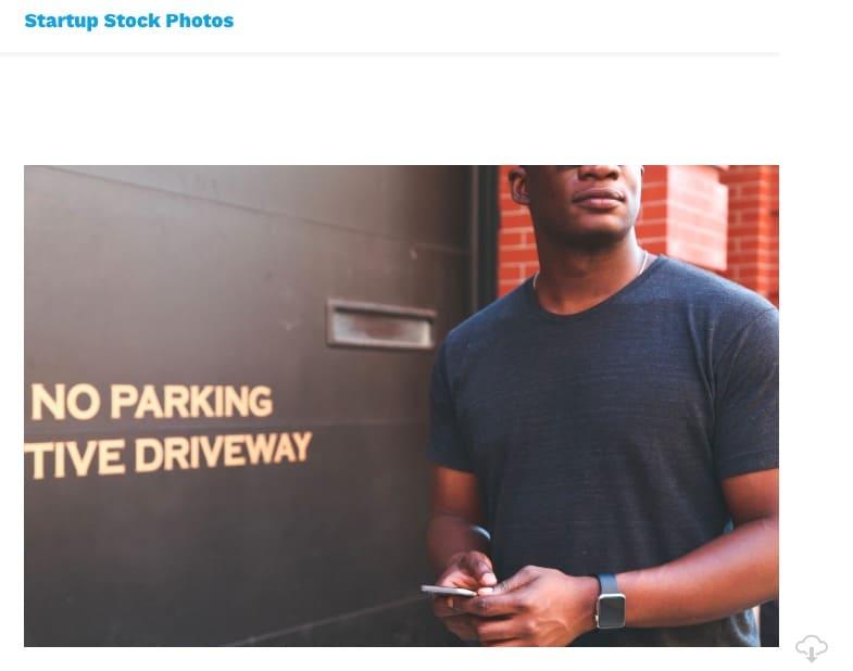 Lizenzfreie Bilder kostenlos - startupstockphotos website